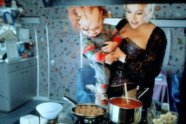 La Fiancée de Chucky : Photo Jennifer Tilly, Ronny Yu