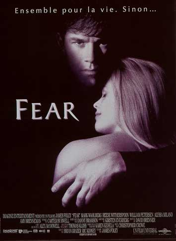 Fear : Affiche James Foley, Reese Witherspoon