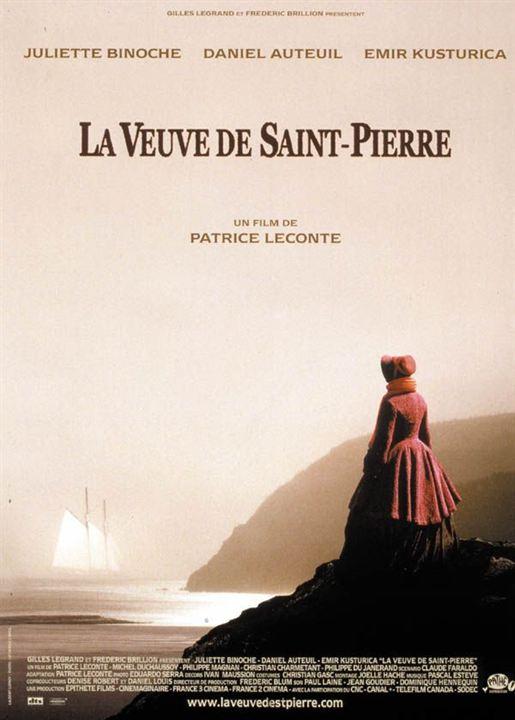 La Veuve de Saint-Pierre : affiche Patrice Leconte