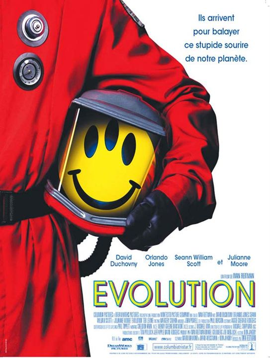 Evolution : Affiche Ivan Reitman