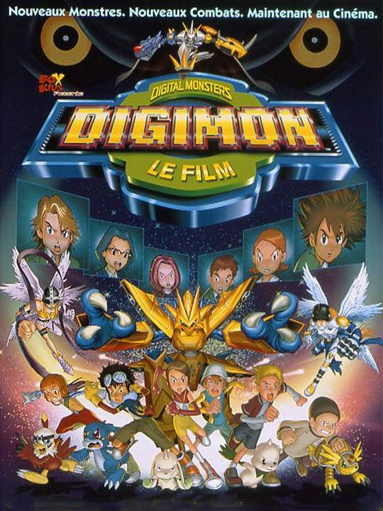 Digimon: The movie : Affiche