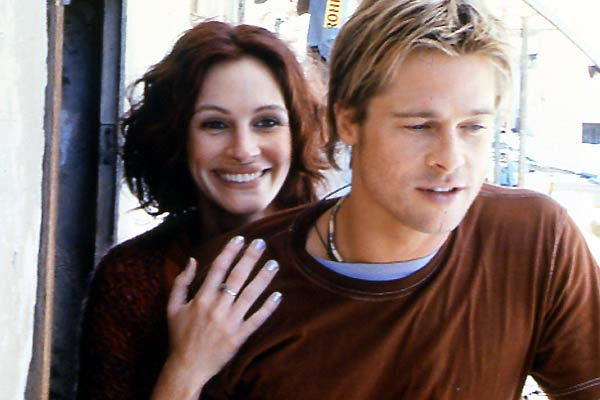 Le Mexicain : Photo Brad Pitt, Julia Roberts