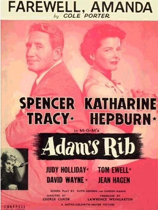Madame porte la culotte : Affiche George Cukor, Katharine Hepburn, Spencer Tracy