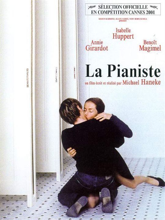 La Pianiste : Affiche Benoît Magimel, Michael Haneke