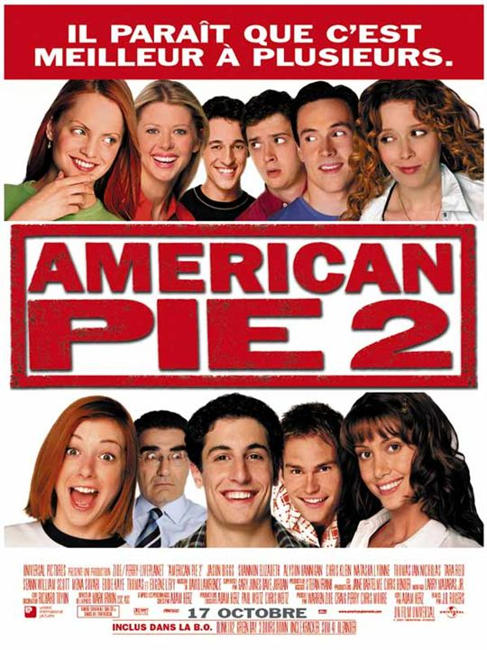 American Pie 2 : affiche James B. Rogers