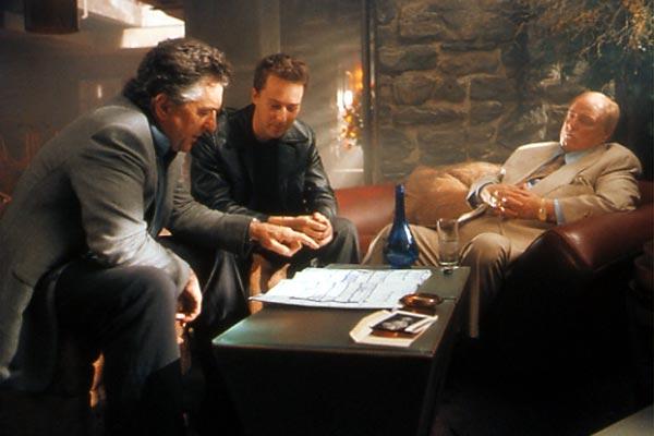 The Score : Photo Edward Norton, Marlon Brando, Robert De Niro