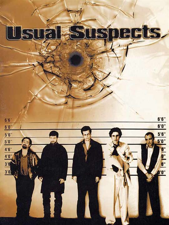 Usual Suspects : Affiche Kevin Pollak, Stephen Baldwin