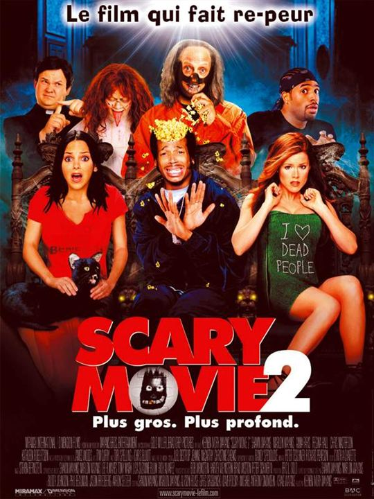 Scary Movie 2 : Affiche Keenen Ivory Wayans, Shawn Wayans