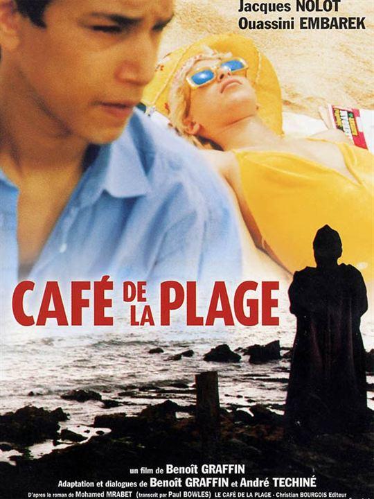 Café de la plage : affiche