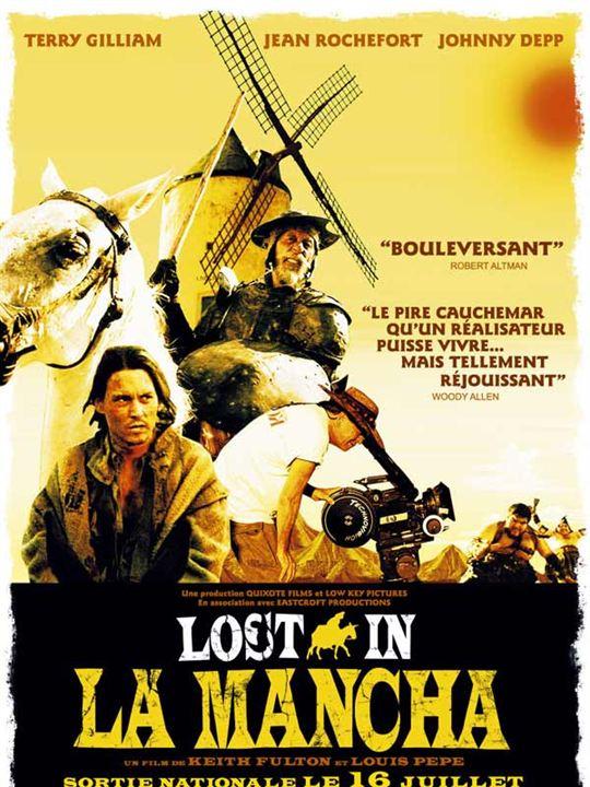 Lost in La Mancha : Affiche