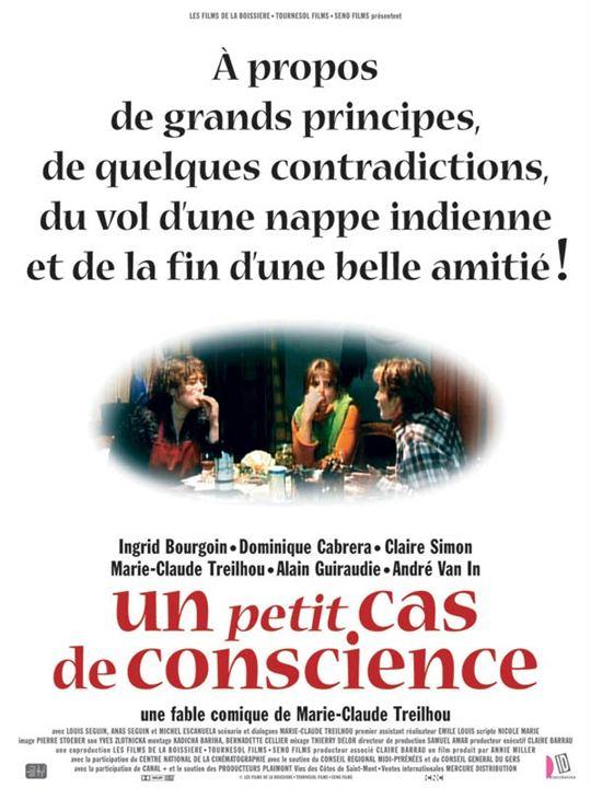 Un Petit cas de conscience : affiche