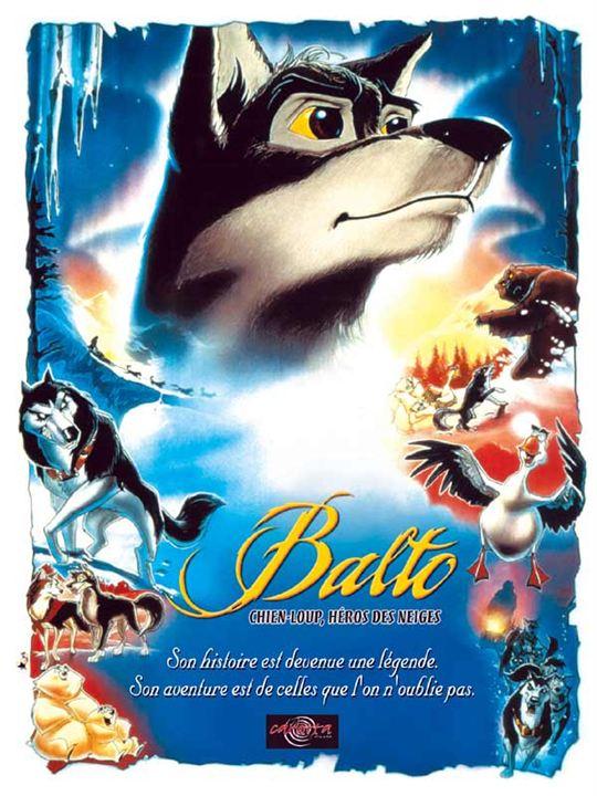 Balto chien-loup, héros des neiges : Affiche