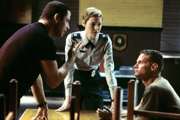 Basic : Photo Connie Nielsen, John Travolta, Samuel L. Jackson