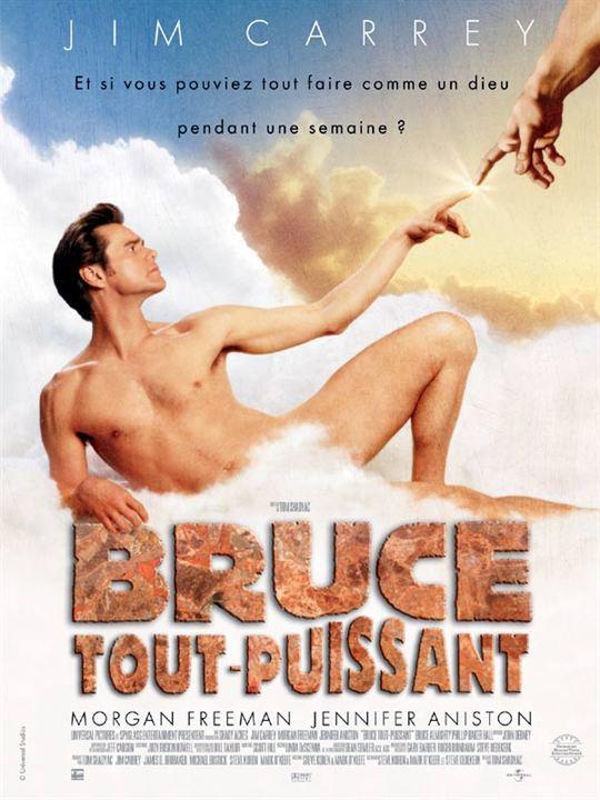 Bruce tout-puissant : Affiche