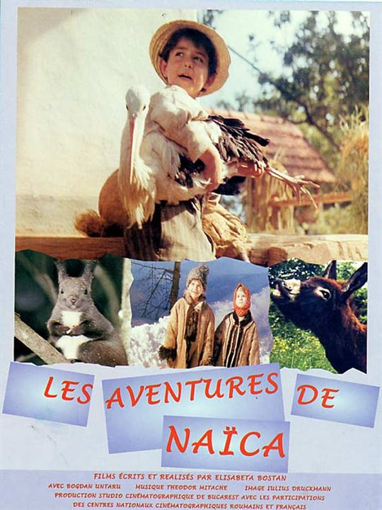 Les Aventures de Naïca : affiche