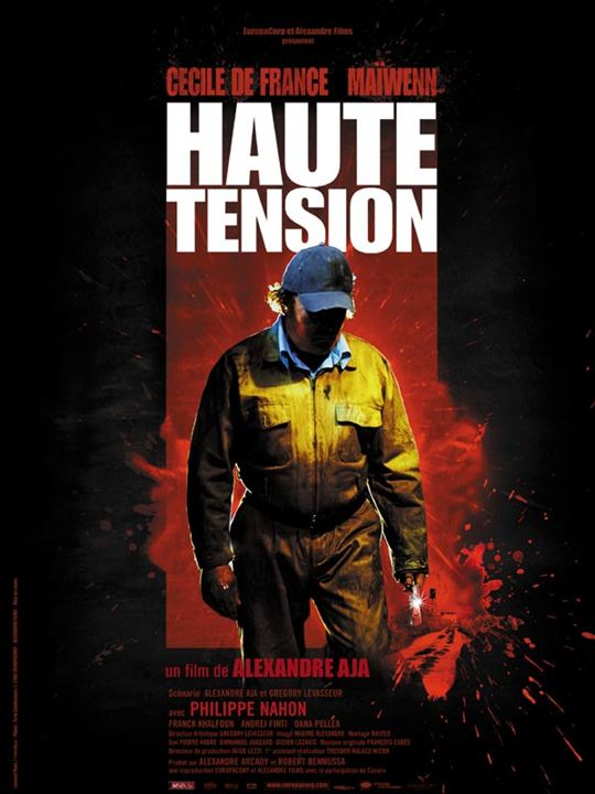 Affiche du film haute tension affiche 1 sur 1 allocin for Haute tension mots fleches