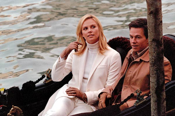 Braquage à l'italienne : Photo Charlize Theron, Mark Wahlberg