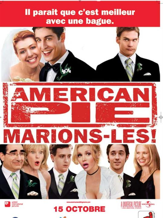 American pie : marions-les ! : Affiche Jesse Dylan