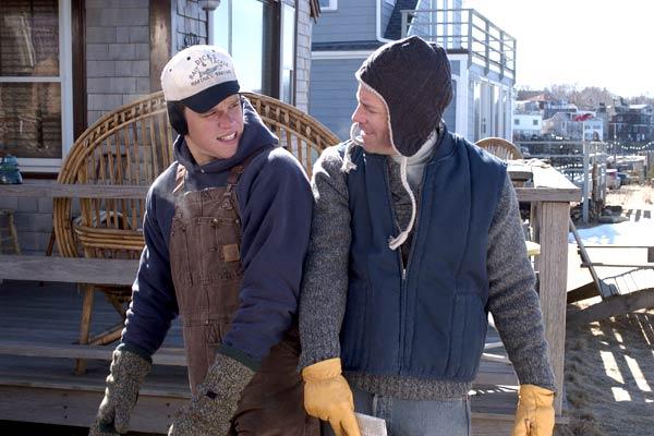 Deux en un : Photo Greg Kinnear, Mark Steilen, Matt Damon