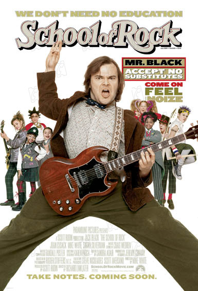 Rock Academy : Photo Jack Black, Joan Cusack