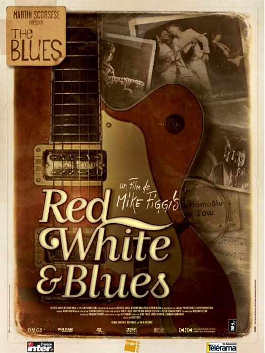 Red, white and blues : Affiche Mike Figgis