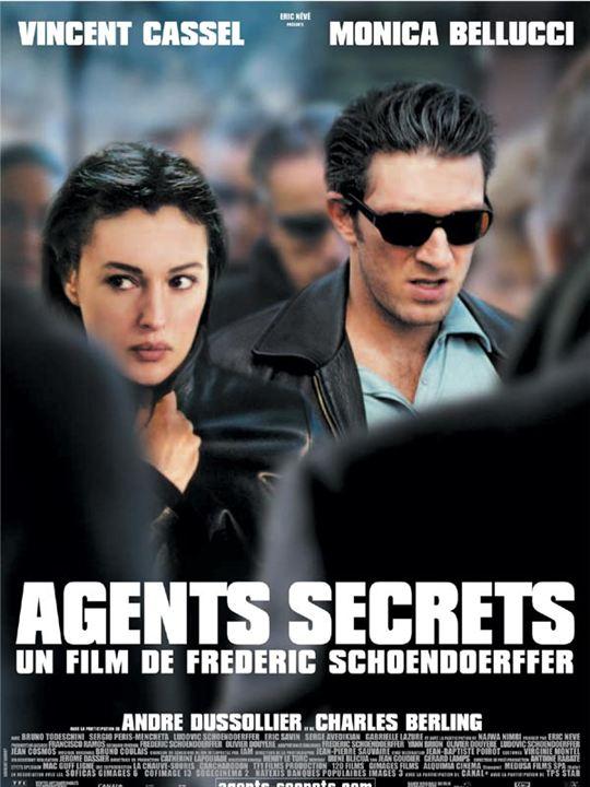 Agents secrets : Affiche Frédéric Schoendoerffer, Monica Bellucci