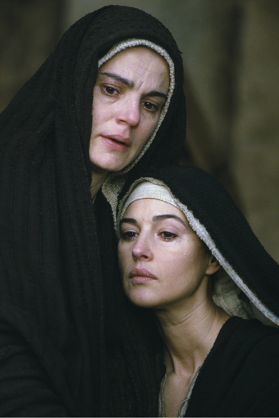La Passion du Christ : Photo Maia Morgenstern, Mel Gibson, Monica Bellucci