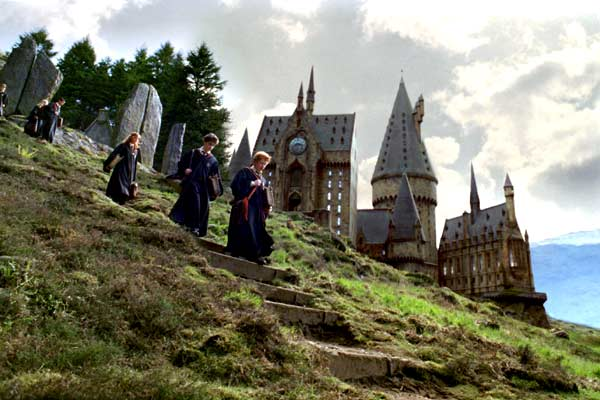 Harry Potter et le Prisonnier d'Azkaban : Photo Daniel Radcliffe, Emma Watson, Rupert Grint