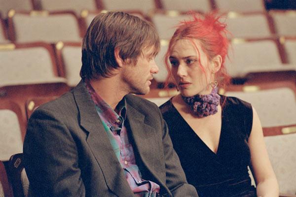 Eternal Sunshine of the Spotless Mind : Photo Jim Carrey, Kate Winslet, Michel Gondry