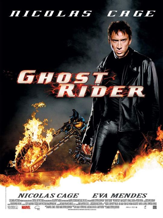 Ghost Rider : Affiche Mark Steven Johnson