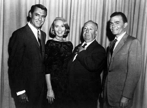 La Mort aux trousses : Photo Alfred Hitchcock, Cary Grant, Eva Marie Saint, James Mason
