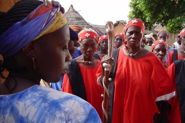 Moolaade : Photo Ousmane Sembene