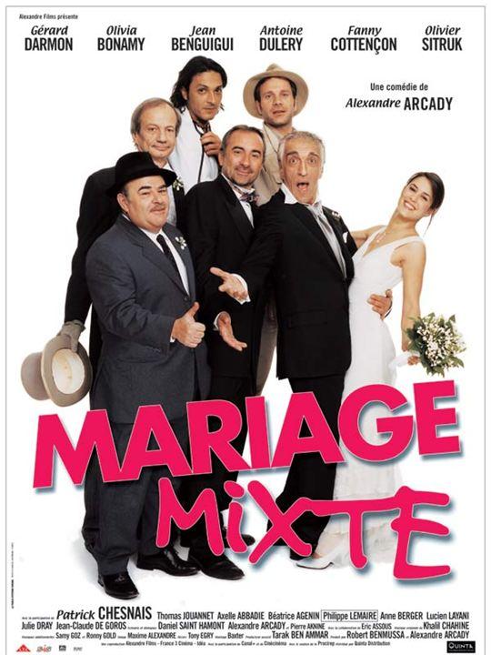 Mariage mixte : Affiche Antoine Duléry, Jean Benguigui, Patrick Chesnais