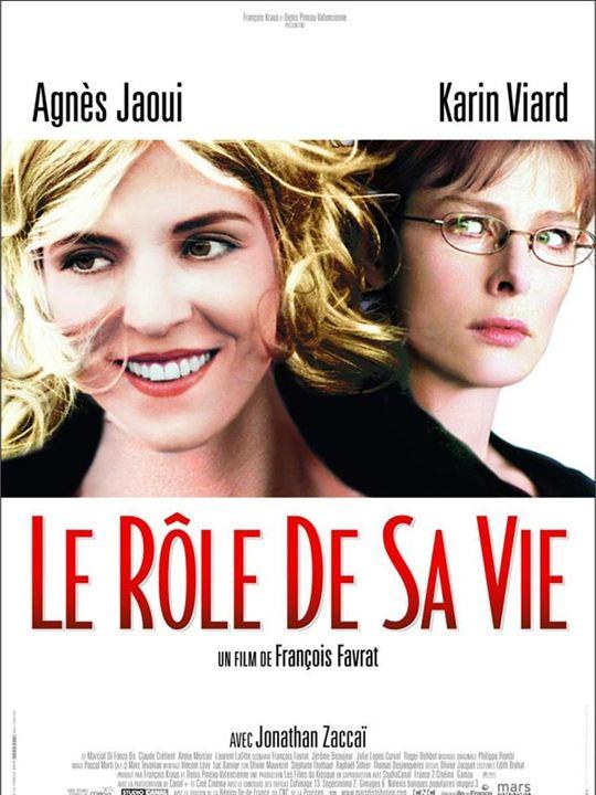 Le Rôle de sa vie : Affiche Agnès Jaoui, François Favrat