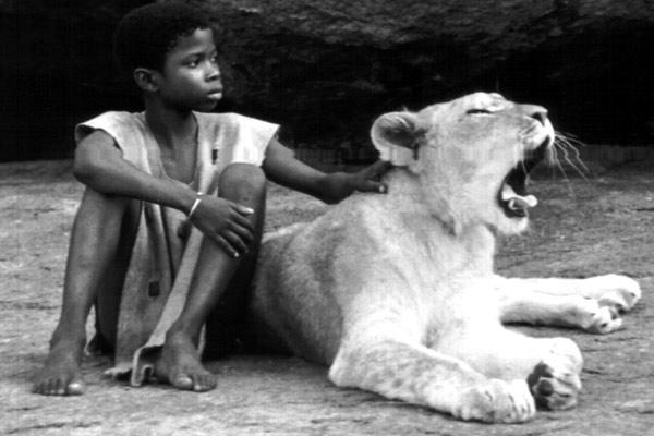 L'enfant lion : Photo Patrick Grandperret