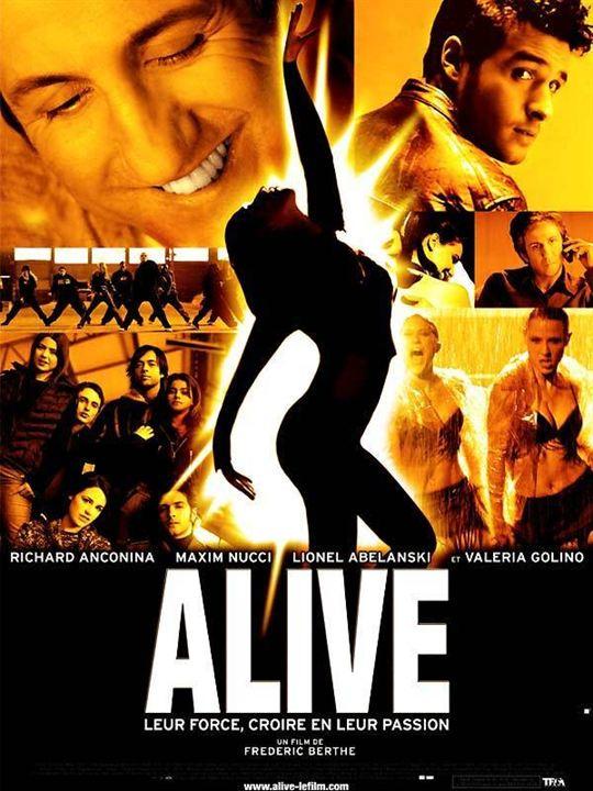 Alive : Affiche Frédéric Berthe