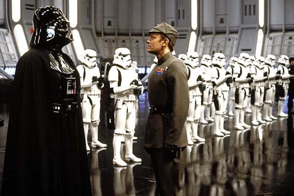 Star Wars : Episode V - L'Empire contre-attaque : Photo David Prowse, Irvin Kershner, Michael Culver