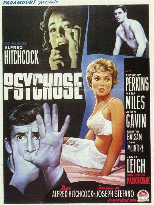 Psychose : Affiche