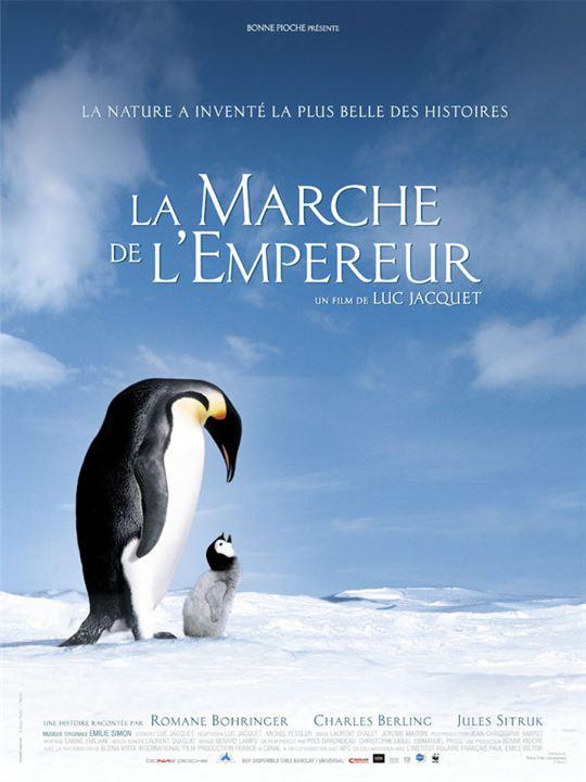 La Marche de l'Empereur : Affiche
