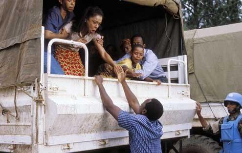 Hotel Rwanda : Photo Don Cheadle, Sophie Okonedo