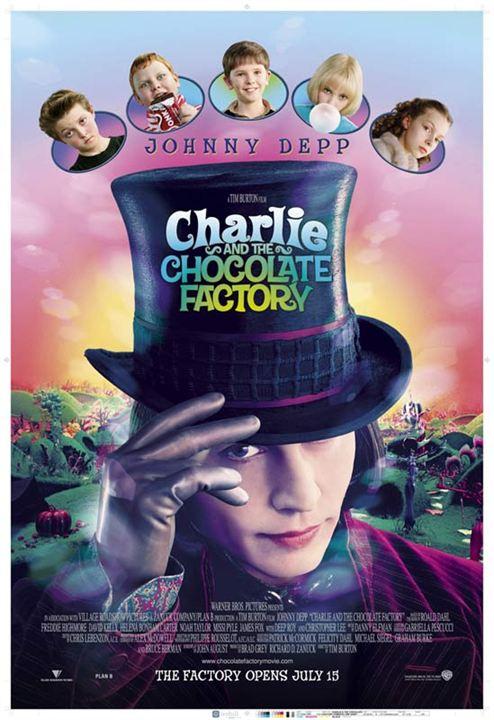 Charlie et la chocolaterie : Affiche