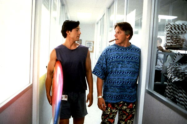Point break extrême limite : Photo Gary Busey, Keanu Reeves