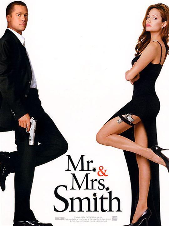 Mr. & Mrs. Smith : Affiche
