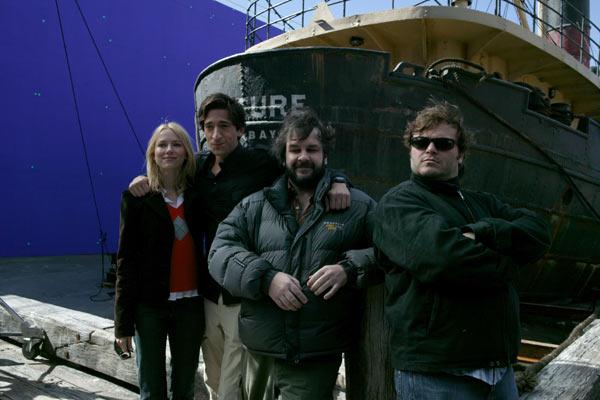 King Kong : Photo Adrien Brody, Jack Black, Naomi Watts, Peter Jackson