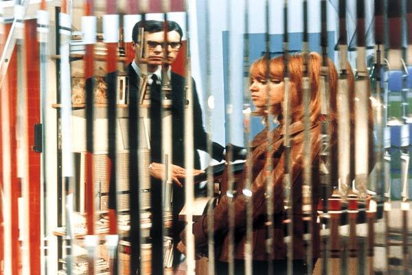 La Prisonnière : Photo Dany Carrel, Elisabeth Wiener, Laurent Terzieff