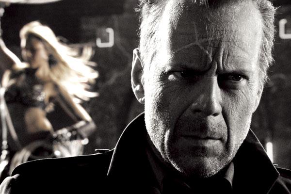 Sin City : Photo Bruce Willis, Jessica Alba