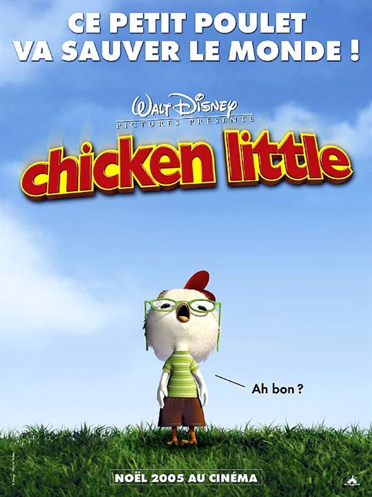 Chicken Little : Affiche Mark Dindal