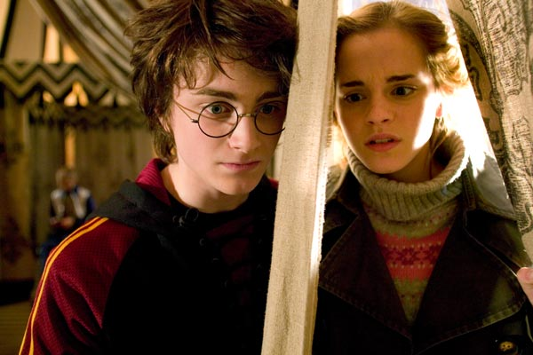 Harry Potter et la Coupe de Feu : Photo Daniel Radcliffe, Emma Watson