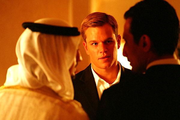 Syriana : Photo Matt Damon, Stephen Gaghan