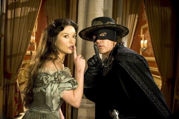 La Légende de Zorro : Photo Antonio Banderas, Catherine Zeta-Jones